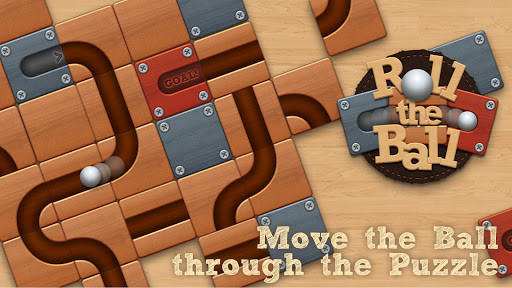 Roll the Ball® - slide puzzle  screenshots 1