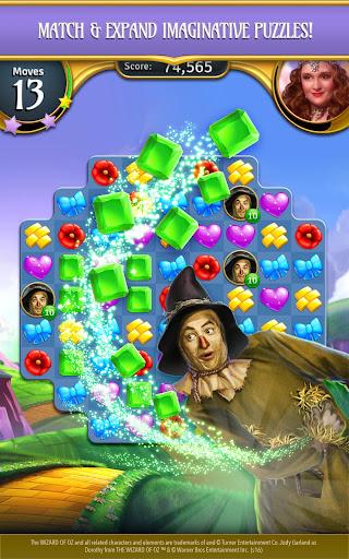 The Wizard of Oz Magic Match 3 Puzzles & Games apktram screenshots 9