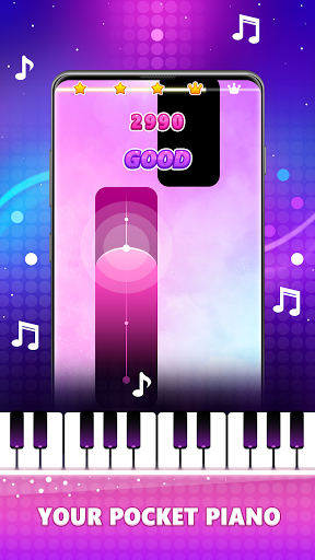 Magic Pink Tiles: Piano Game 1.0.0 screenshots 1