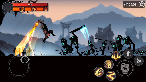Stickman Master: League Of Shadow - Ninja Fight android2mod screenshots 3