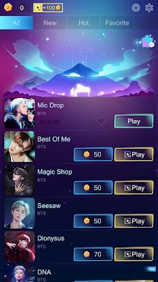 BTS BEAT FIRE 3D: Kpop Rhythm Music Game!のおすすめ画像1