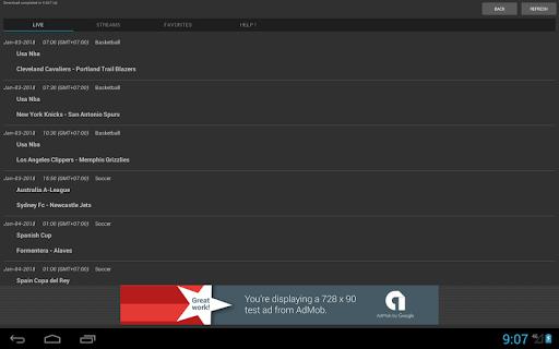 Sport Schedule 1.03 Screenshots 7