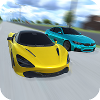 Street Drag Racing 3D Icon