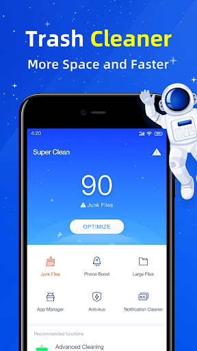 Super Clean - Master of Cleaner, Phone Booster 5.2.13 screenshots 1