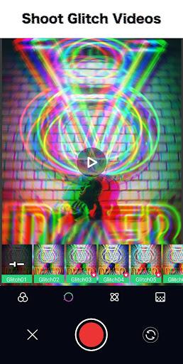 Glitch Photo Editor - Glitch Video, VHS, Vaporwave 1.4.5 Screenshots 1