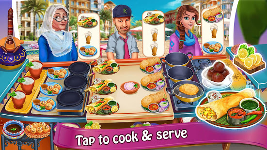 Cooking with Nasreen: Chef Restaurant Cooking Game 1.9.2 Screenshots 3