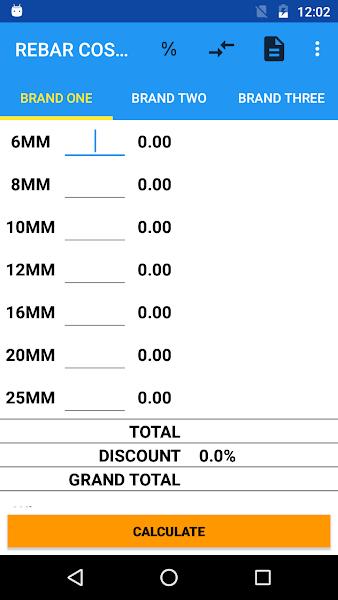 Steel RebarCost Calculator