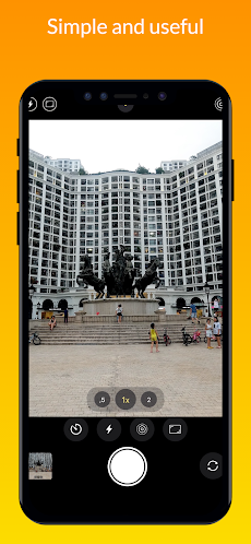 iCamera – iOS Camera, iPhone Cameraのおすすめ画像1