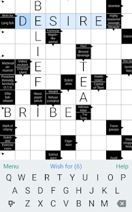 Clean Crosswords Screenshot