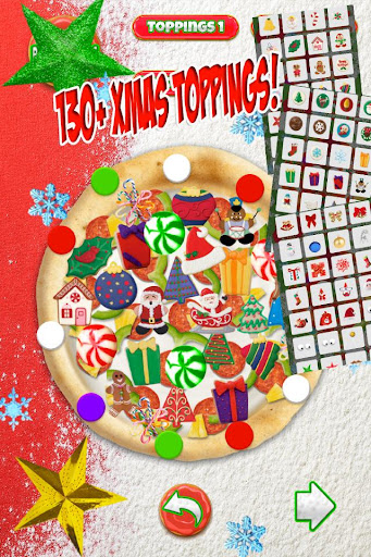 Christmas Candy Pizza Maker Fun Food Cooking Game  screenshots 4