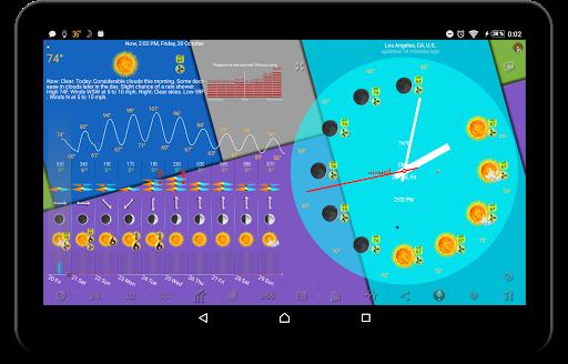 Weather app & widget with barometer: eWeather HDF  Screenshots 12