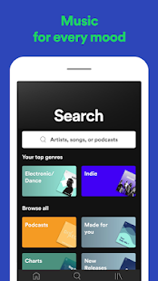 Spotify: Listen to podcasts & find music you love Screenshot