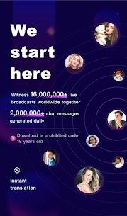 FaceCast 2.5.85 MOD APK – Make New Friends – Meet & Chat Livestream 13