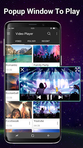 Video Player All Format for Android 1.7.2 Screenshots 2