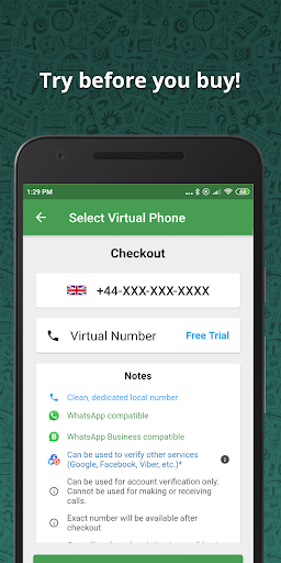 Wabi - Virtual Number for WhatsApp Business 2.8.0 Screenshots 4