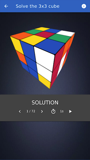 Cube Solver 2.2.0 screenshots 6