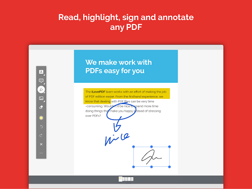 iLovePDF - PDF Editor & Reader 1.4.0 Screenshots 13
