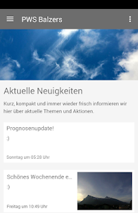 Private Wetterstation Balzers 6.583 screenshots 1