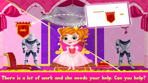 Cleaning games Kids - Clean Decor Mansion & Castle 8.1 screenshots 7