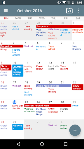 Download APK: Calendar+ Planner Scheduling v1.08.71 [Paid]