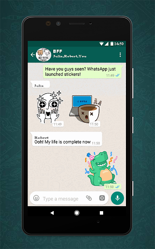 Free Messenger Whats Stickers New  Screenshots 4