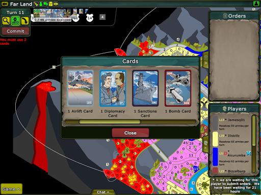 Warzone - turn based strategy v5.07.1.1 screenshots 11