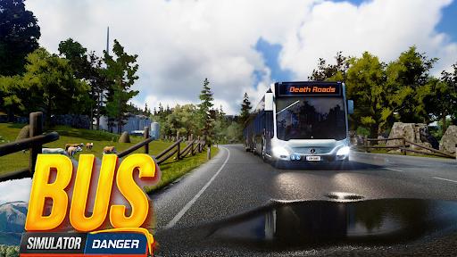 Bus Simulator : Dangerous Road screenshot 5