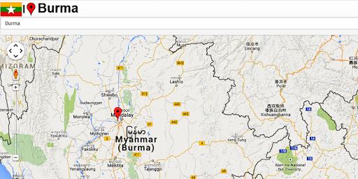 Mandalay map  screenshots 2