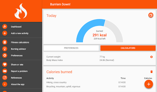 Burn Calories & Lose Belly Fat Track daily routine