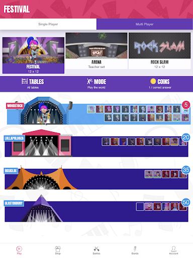 Times Tables Rock Stars 3.10.0 screenshots 11
