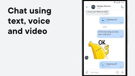 VK — live chatting & free calls 2
