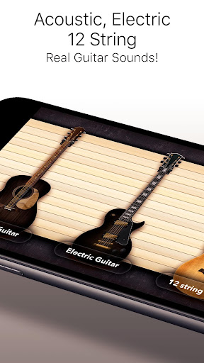 Real Guitar Free - Chords, Tabs & Simulator Games apkpoly screenshots 5