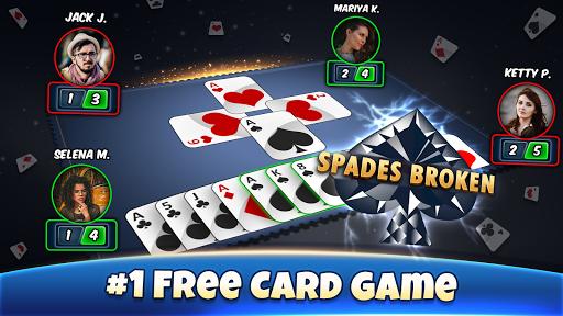 Spades - Card Games Free 9.4 screenshots 1
