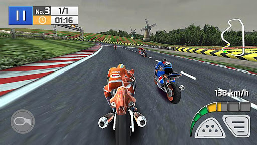 Code Triche Course Réelle de Moto 3D APK MOD (Astuce) screenshots 1