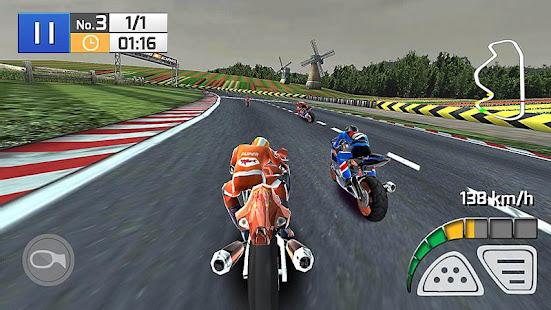 Course Réelle de Moto 3D screenshots apk mod 1