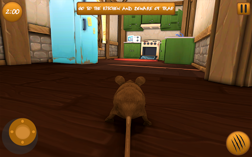 Home Mouse simulator: Virtual Mother & Mouse 2.1 Screenshots 3