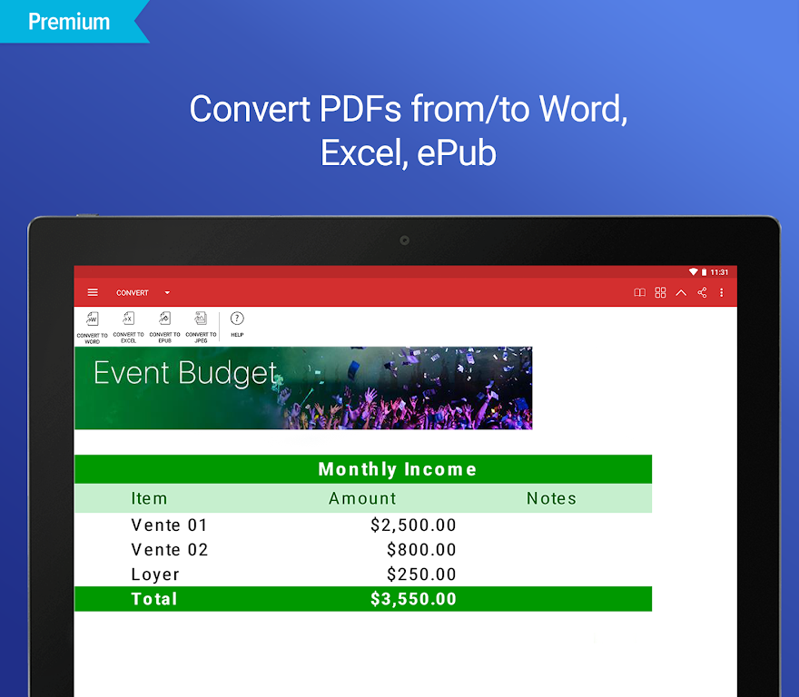 PDF Extra - Scan, View, Fill, Sign, Convert, Edit  poster 17