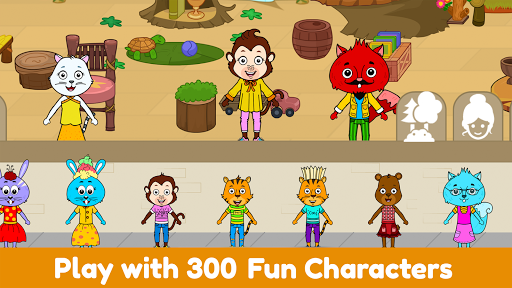 Tizi World: My Play Town, Dollhouse Games for Kids 6.2 Screenshots 10