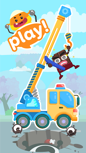 CandyBots Cars & Trucksud83dude93Vehicles Kids Puzzle Game  screenshots 11