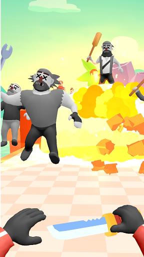 Hit Master 3D : art du couteau APK MOD screenshots 4