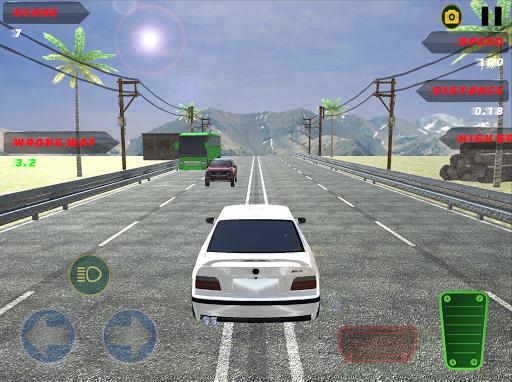 v8 car traffic racer screenshot 2