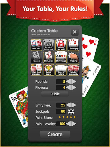 Rummy (Free, no Ads) 1.7.0 screenshots 11