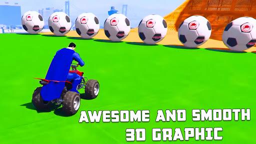 ATV Quads Superheroes Stunts Racing screenshots 6