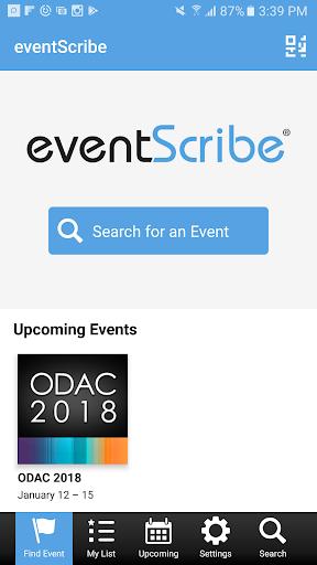 eventScribe 1.3.1 screenshots 1