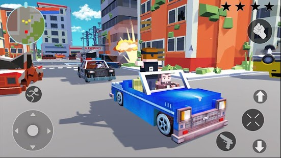 Gangster Crime 3D - Pixel Edition Screenshot