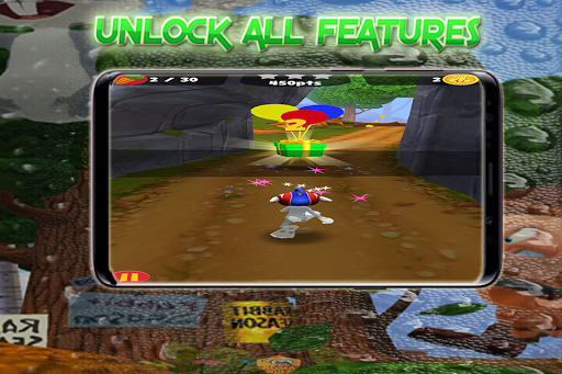 Rabbit Dash Tunes _ Run Away form Hunter! apkpoly screenshots 3