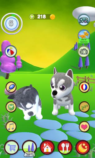 Talking Husky Dog screenshots 7