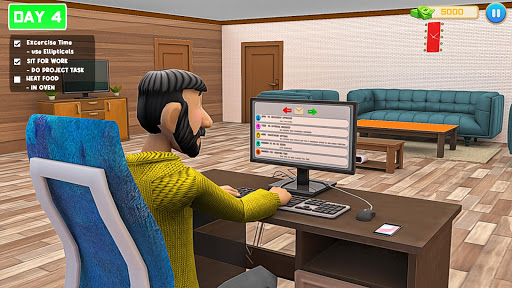 Virtual Work From Home Simulator Apkfinish screenshots 2