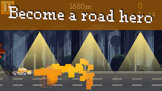 The road of hero