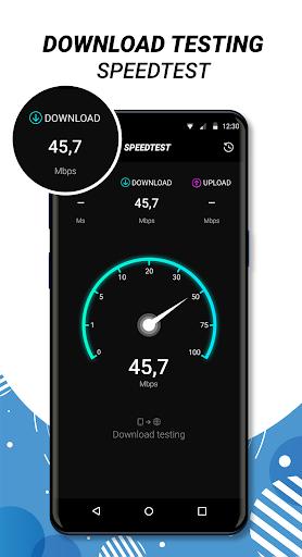 Internet Speed Test - Wifi SpeedTest apktram screenshots 2